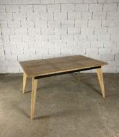 table-chene-metal-revisitee-pieds-compas-vintage-5francs-1
