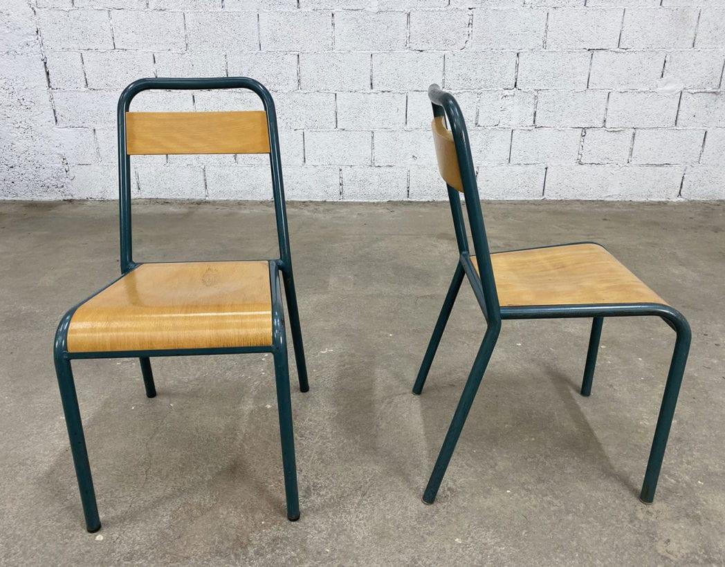 chaises-ecole-stella-tubulaire-patine-bois-métal-vintage-retro-5francs-5
