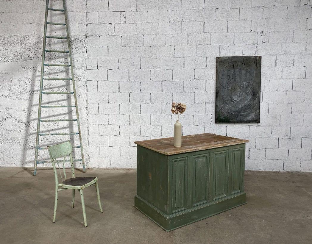 etite-banque-double-face-patine-ilot-centrale-rustique-boheme-meuble-metier-vintage-5francs-8