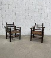 ancien-fauteuil-bois-cordage-charles-dudouyt-vintage-5francs-1