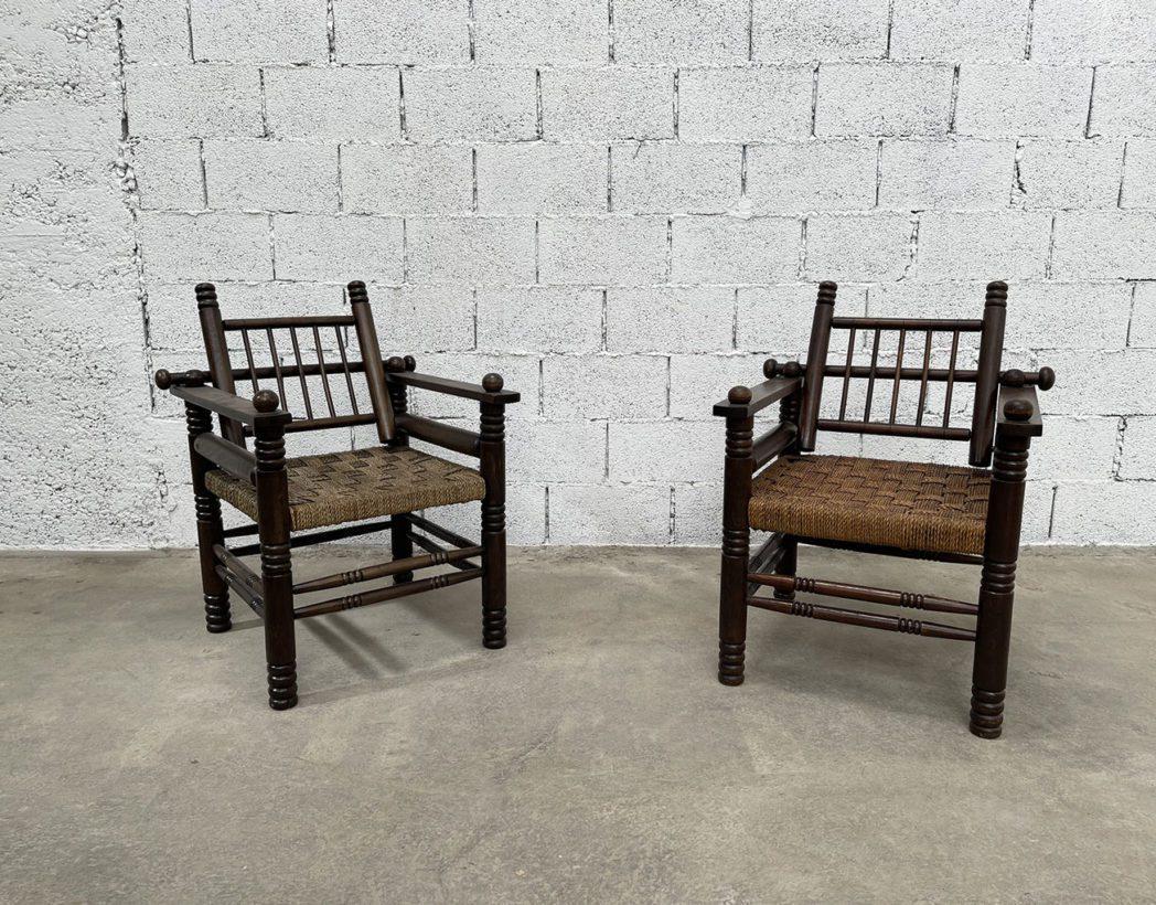 ancien-fauteuil-bois-cordage-charles-dudouyt-vintage-5francs-2