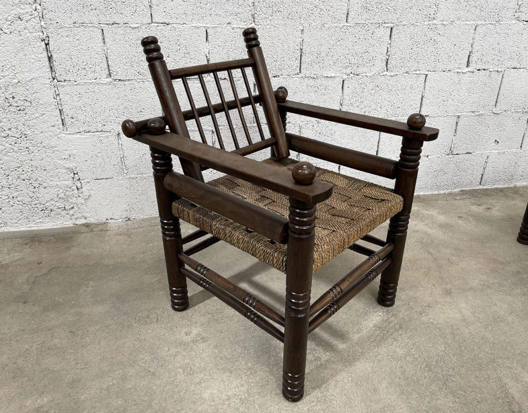 ancien-fauteuil-bois-cordage-charles-dudouyt-vintage-5francs-3