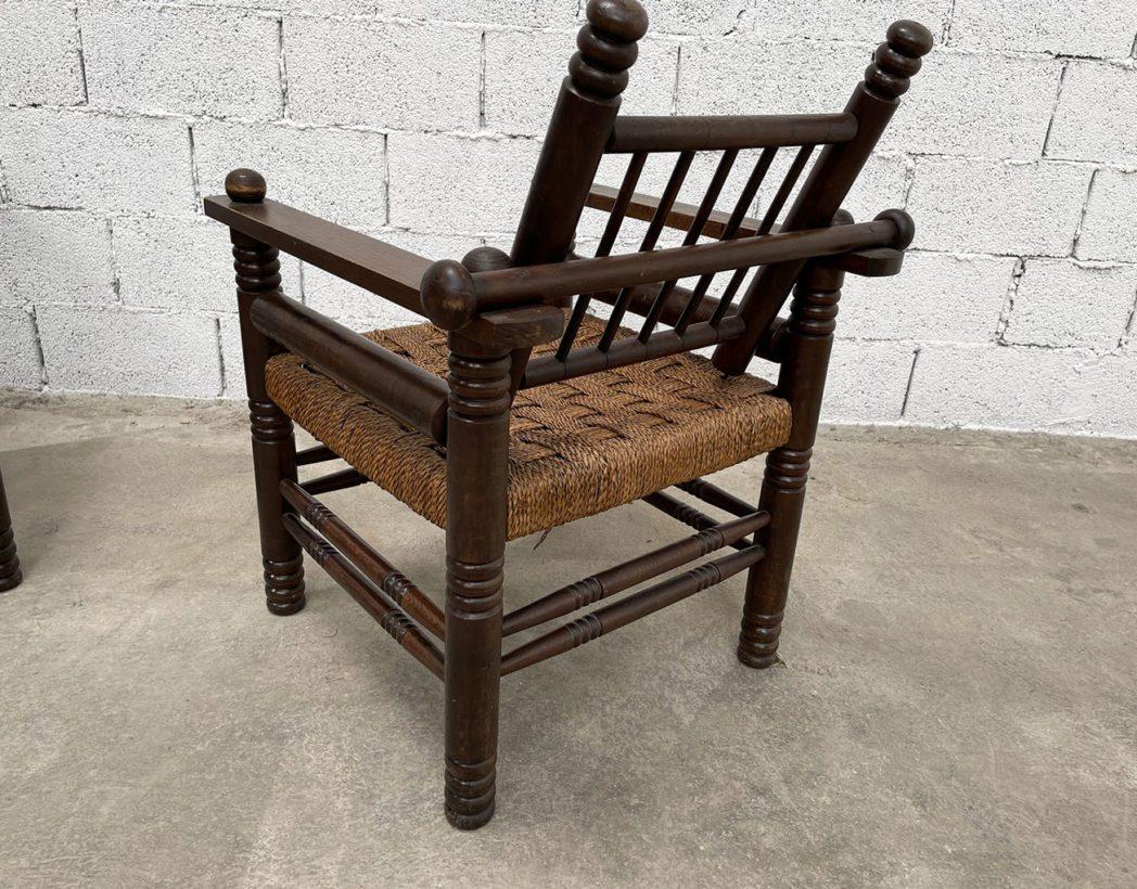 ancien-fauteuil-bois-cordage-charles-dudouyt-vintage-5francs-5