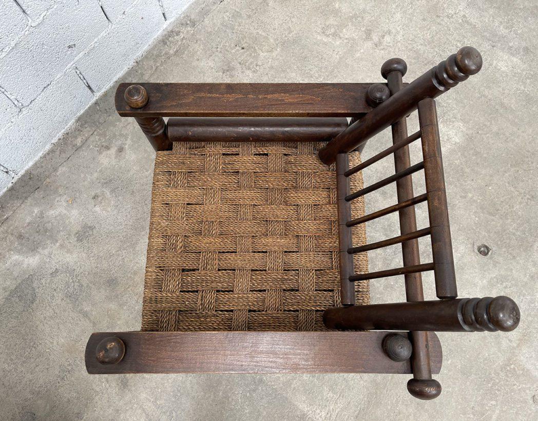 ancien-fauteuil-bois-cordage-charles-dudouyt-vintage-5francs-7