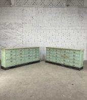 ancien-grand-meuble-de-metier-tiroirs-herboristerie-pharmarcie-patine-vert-pastel-vintage-buffet-5francs-11