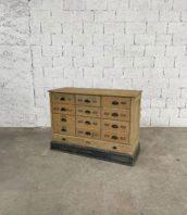 ancien-meuble-de-metier-tiroirs-mercerie-pin-vintage-deco-boheme-chic-5francs-1