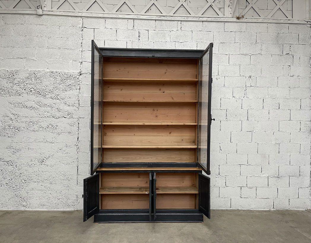 ancienne-grande-bibliotheque-vitrine-mobilier-vintage-bois-5francs-4
