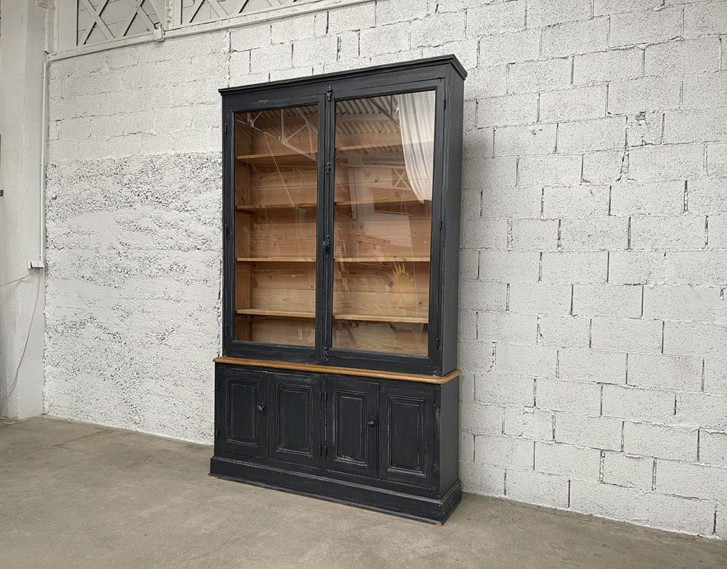 ancienne-grande-bibliotheque-vitrine-mobilier-vintage-bois-5francs-6