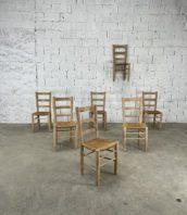 anciennes-chaises-chene-paille-charlotte-perriand-vintages-rustique-deco-boheme-5francs-1